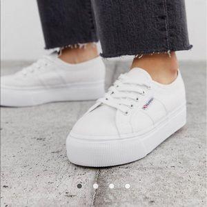 Superga Sneakers - White Platform sneakers
